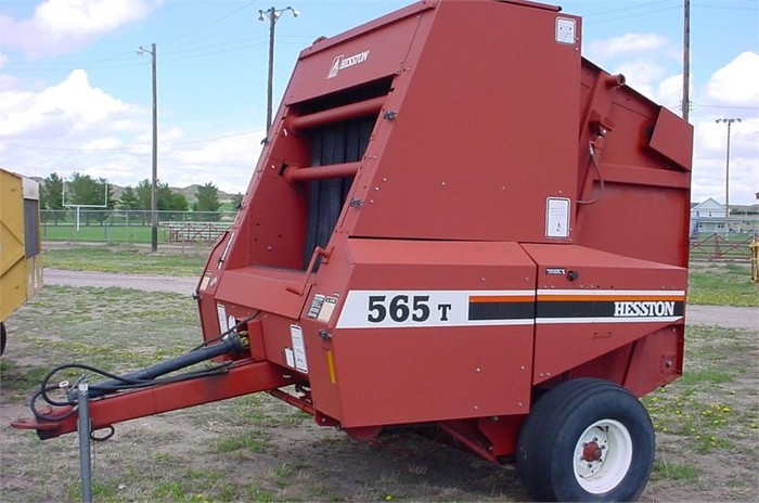 Rose Brothers Inc  - UNKNOWN HESSTON 565T ROUND BALER FOR SALE