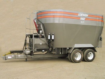 LOEWEN TMR Mixers :: L&L Sales and Service - Your Cow