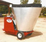 Stainless Steel Mixing Tub-Feed Cart