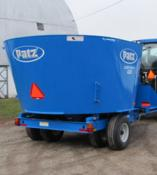 1200 Series Trailer Vertical Mixer
